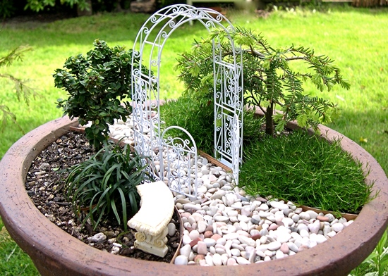 Miniature Garden Ideas 40 magical diy fairy garden ideas Miniature Garden Decor Ideas