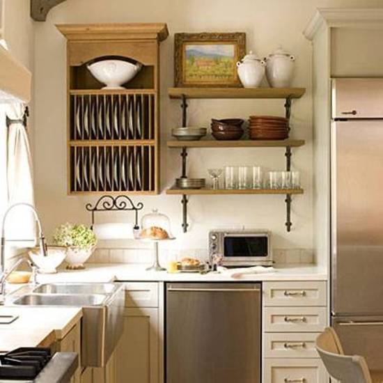 15 trendy kitchen storage ideas ultimate home ideas for Kitchen shelf ideas