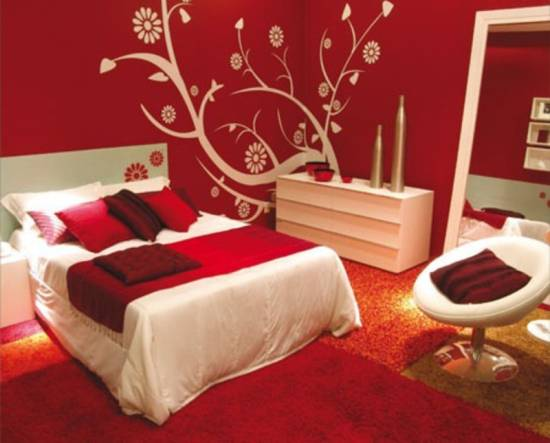 Red Color Bedroom 20 Red Master Bedroom Design Ideas  Ultimate Home Ideas