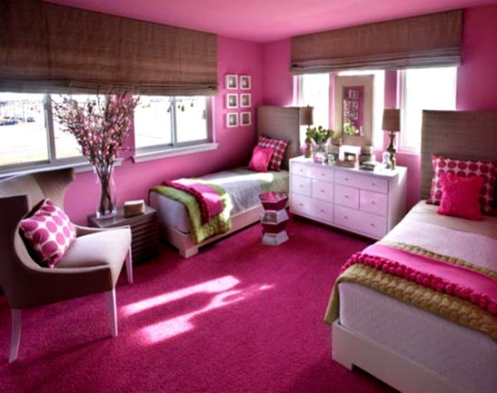 Twin girls bedroom ideas