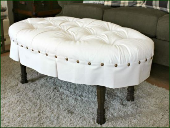 Cute DIY ottoman ideas