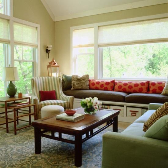 Window seat designs