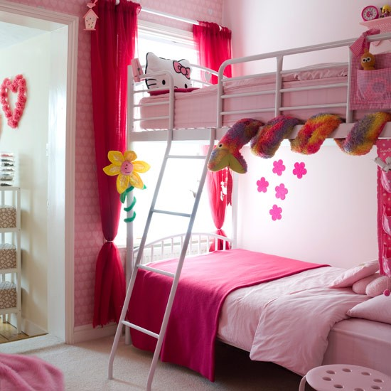 Bedroom Ideas For Girls Bed Ideas And Kids Bedroom: 51 Stunning Twin Girl Bedroom Ideas