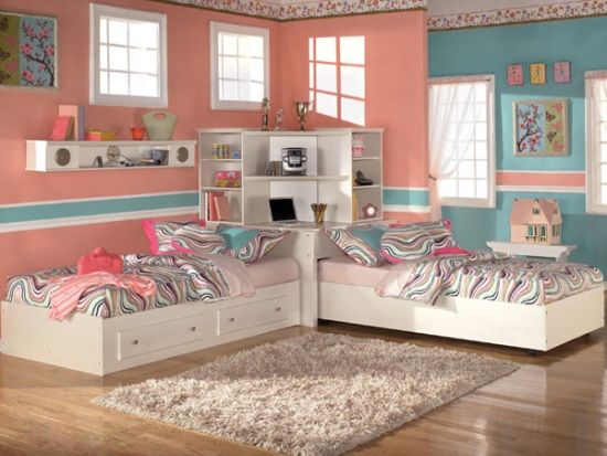 Twin Bedroom Ideas 51 stunning twin girl bedroom ideas | ultimate home ideas