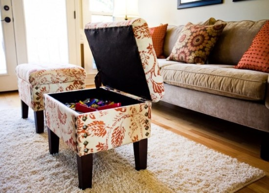 DIY ottoman ideas - 50 Creative DIY Ottoman Ideas Ultimate Home Ideas