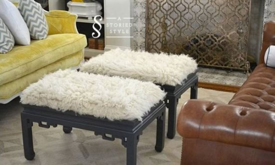 Simple DIY ottoman ideas