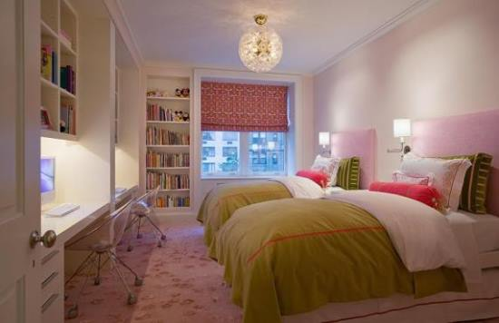 Twin teenage girls' bedroom ideas