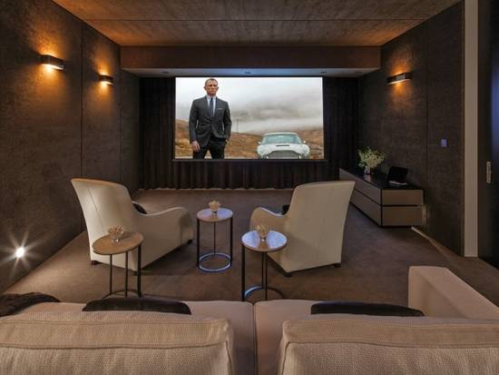 Attractive Home Theater Design
