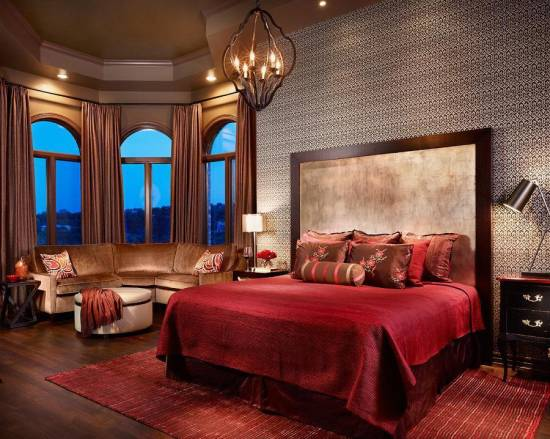 20 red master bedroom design ideas ultimate home ideas Romantic bedrooms com