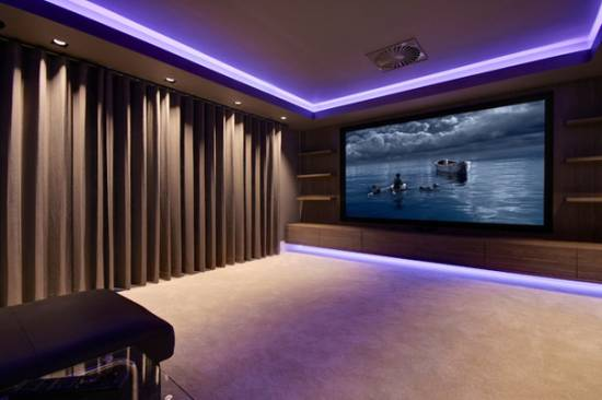 Superbe Home Theater Designs
