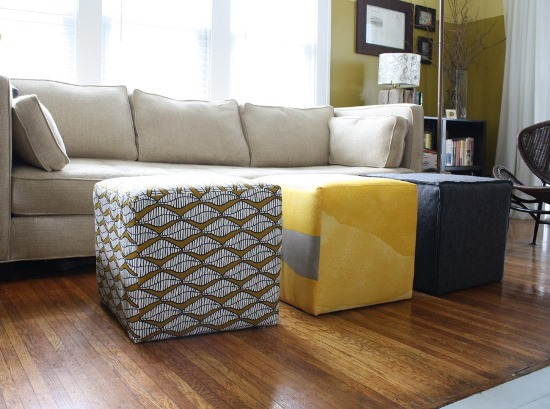 ottomans for living room. DIY ottoman ideas 50 Creative Ottoman Ideas  Ultimate Home