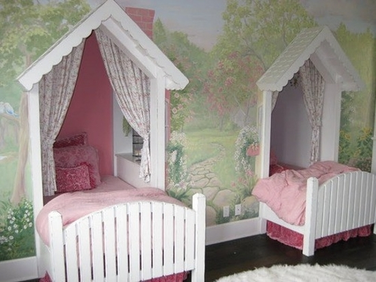 twin girls bedroom ideas - Creative Girls Rooms