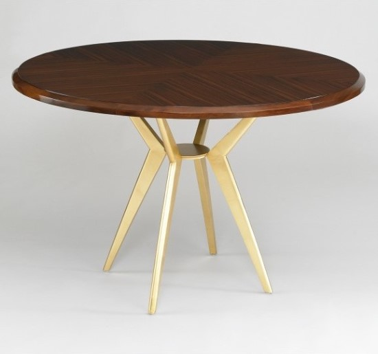 Cute Axel Round Dining Table Design