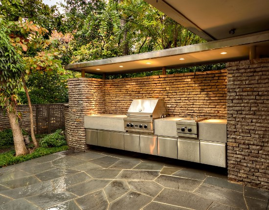 50 eclectic outdoor kitchen ideas ultimate home ideas for House and garden kitchen photos
