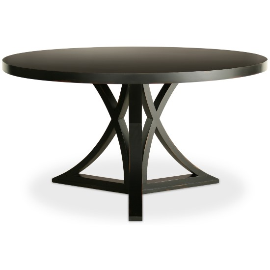15 contemporary black wooden dining table