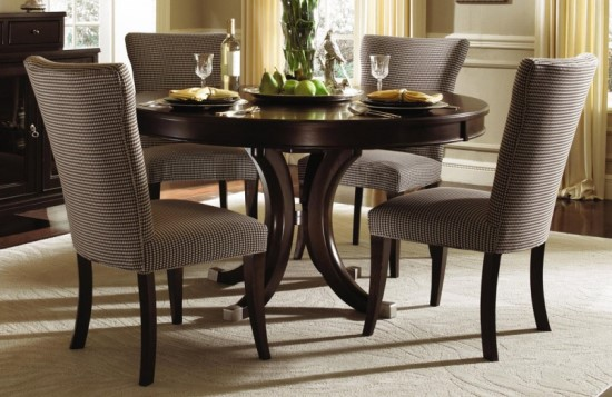 Elegant Round dining table designs
