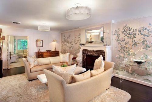 Fabulous tree blossom wallpaper design