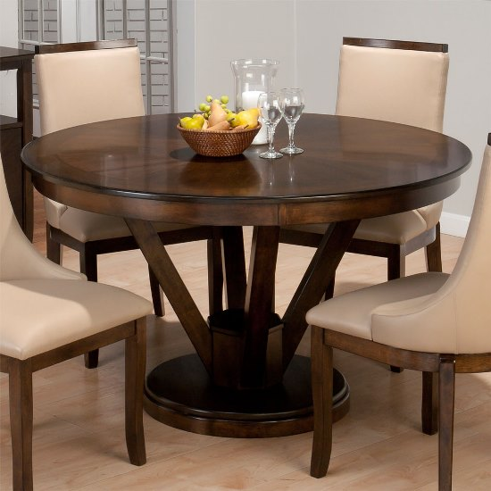 50 round dining table design ideas ultimate home ideas. Black Bedroom Furniture Sets. Home Design Ideas