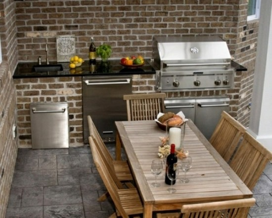 50 eclectic outdoor kitchen ideas ultimate home ideas for Simple outdoor kitchen designs
