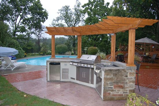 50 eclectic outdoor kitchen ideas ultimate home ideas for Small outdoor kitchen design