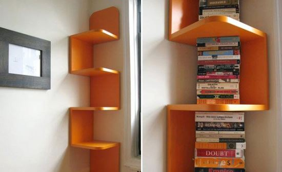 45 Smart Corner Decoration Ideas For Your Home : Trendy Corner Shelves Decor from www.ultimatehomeideas.com size 550 x 335 jpeg 23kB