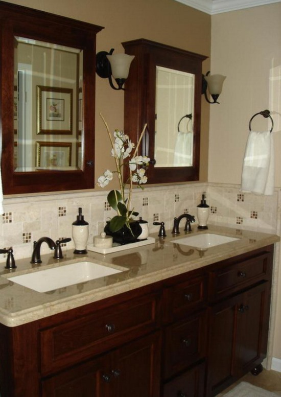 45 cool bathroom decorating ideas ultimate home ideas - How to decorate a bathroom counter ...