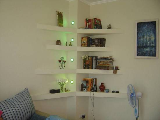 Wall Shelves For Bedroom Corner Decor Decorating Ideas