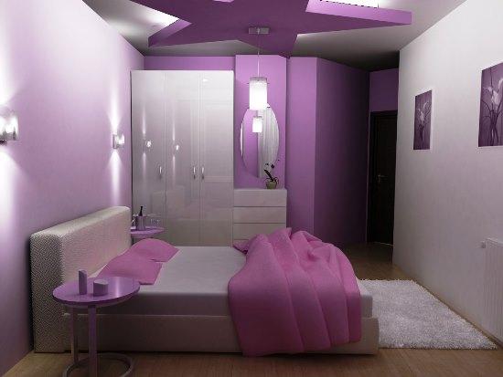 amazing black purple bedroom ideas | 50 Purple Bedroom Ideas For Teenage Girls | Ultimate Home ...