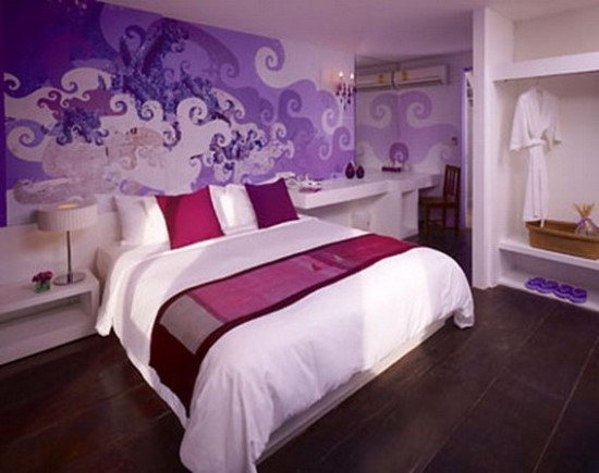 50 purple bedroom ideas for teenage girls ultimate home Teenage bedroom wall designs