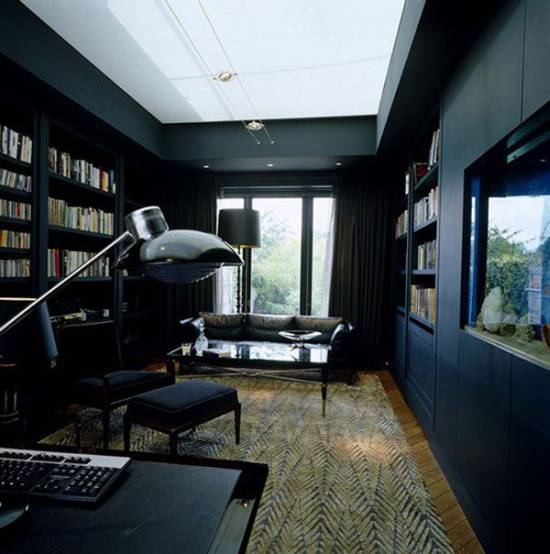 21 black wall living room ideas ultimate home ideas Room with black walls