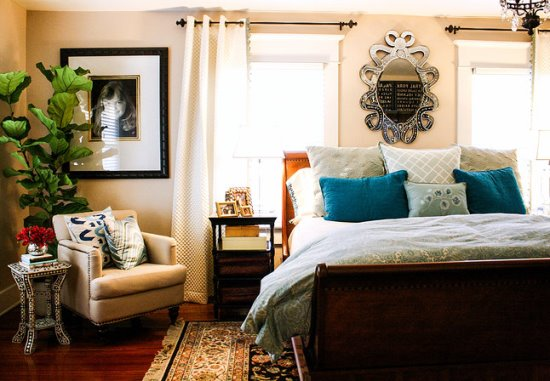 45 smart corner decoration ideas for your home for Bed nook ideas