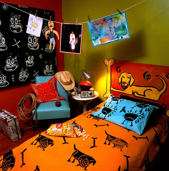 45 creative headboard design ideas for kids room for Creative kid bedroom ideas