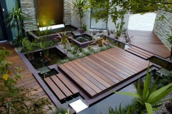 50 soothing indoor water features ultimate home ideas for Indoor japanese garden