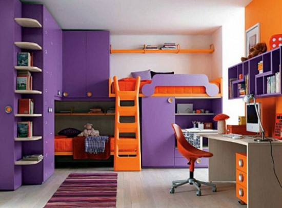 Orange Bedroom Ideas Adults 50 purple bedroom ideas for teenage girls | ultimate home ideas