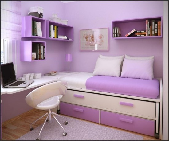 purple bedroom ideas - Teen Girl Room Furniture