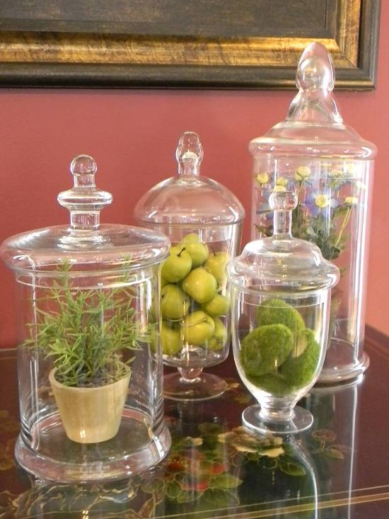 20 home decorating ideas for spring ultimate home ideas for Kitchen jar decoration