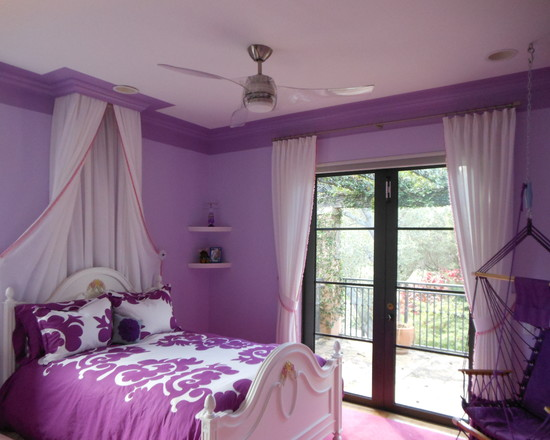 50 purple bedroom ideas for teenage girls ultimate home for Purple bedroom designs modern
