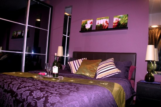 black and purple wallpaper for bedrooms 50 purple bedroom ideas for ultimate home 20364
