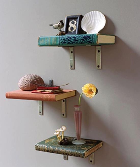 DIY wall shelf ideas