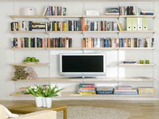 Wall Shelving Ideas For Living Room 50 awesome diy wall shelves for your home | ultimate home ideas
