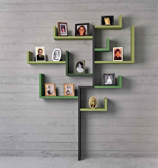 Creative Wall Shelves. DIY wall shelf ideas