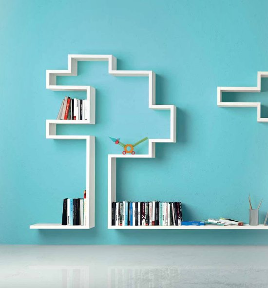 50 awesome diy wall shelves for your home ultimate home for Creative shelf ideas