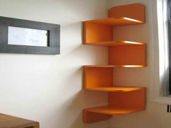 Awesome DIY Wall Shelves For Your Home Ultimate Home Ideas - Corner tree bookshelf