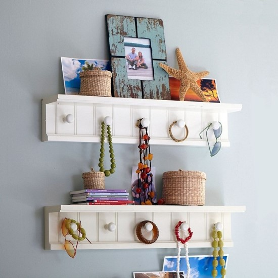 DIY wall shelf ideas