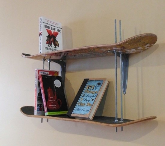 50 awesome diy wall shelves for your home ultimate home for Easy diy shelves
