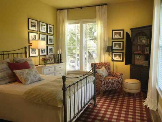 45 guest bedroom ideas small guest room decor ideas essentials. Black Bedroom Furniture Sets. Home Design Ideas