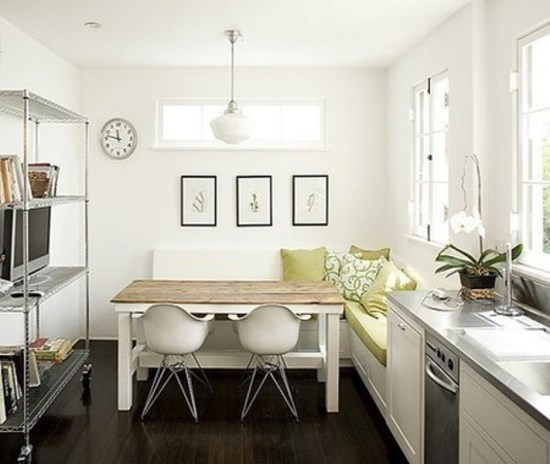 Petite Table De Cuisine Blanche: 50 Beautiful Kitchen Table Ideas