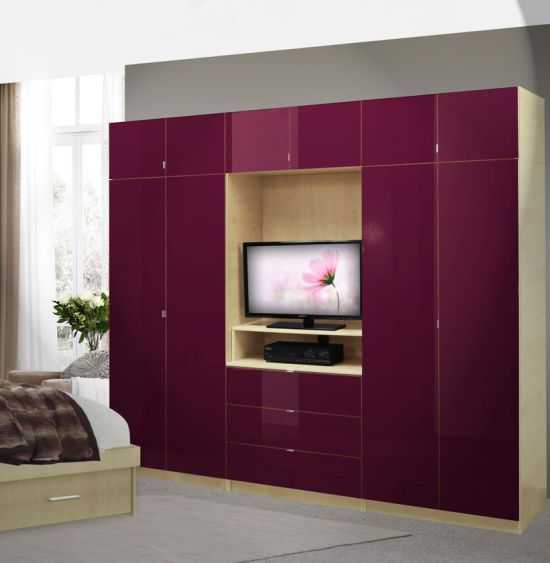 Elegant Bedroom Wall Units