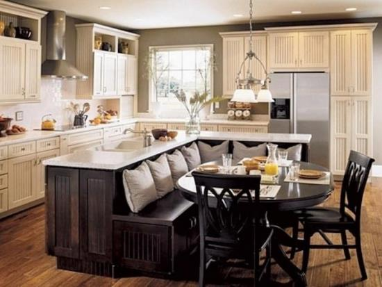 kitchen table designs - Kitchen Island Table Ideas