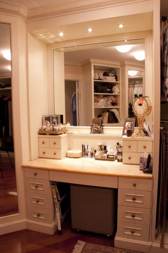 Modern Bathroom Makeup Vanity Set. Makeup Vanity Table Ideas